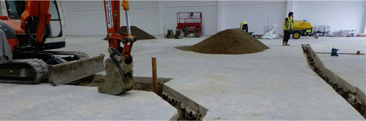 Drainage and Resin Flooring in West Winch, Norfolk